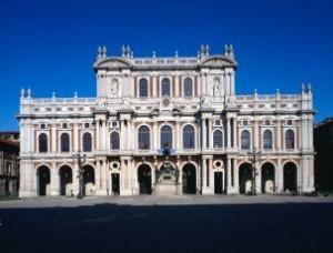 Palazzo Carignano - facciata ottocentesca